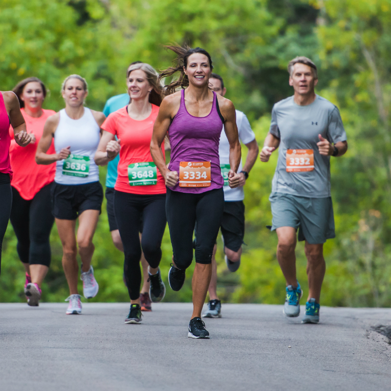 AF Canyon Run Against Cancer - Half Marathon